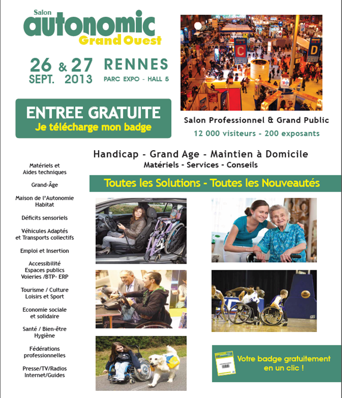Handicap for Salon de l emploi rennes
